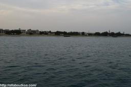 View from Ferry - Fanateer Beach, Jubail