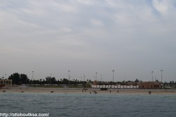 View from Ferry - Fanateer Beach, Jubail