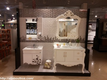 very pretty bathroom accessories