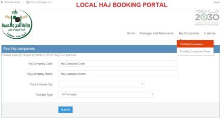 Find Hajj Companies