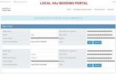 Hajj Package Reservation Summary - Pilgrim Details